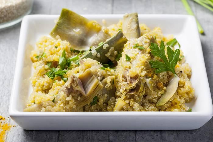 Ricetta Quinoa Con Carciofi.Quinoa Saltata Con Carciofi Star
