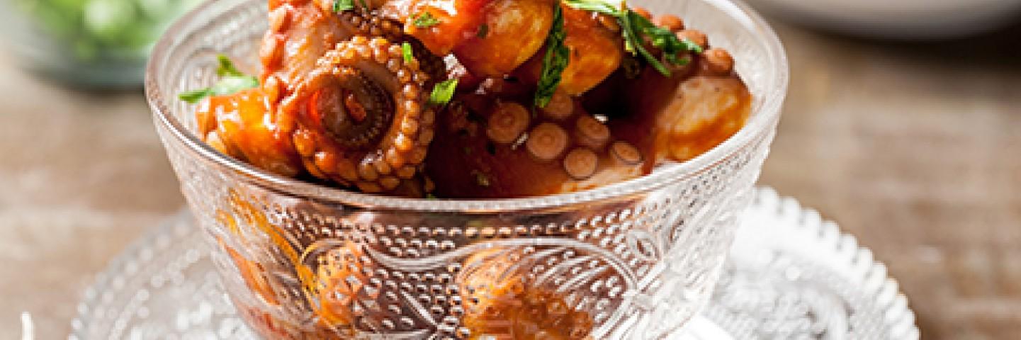 Ricette con pesce e frutti di mare