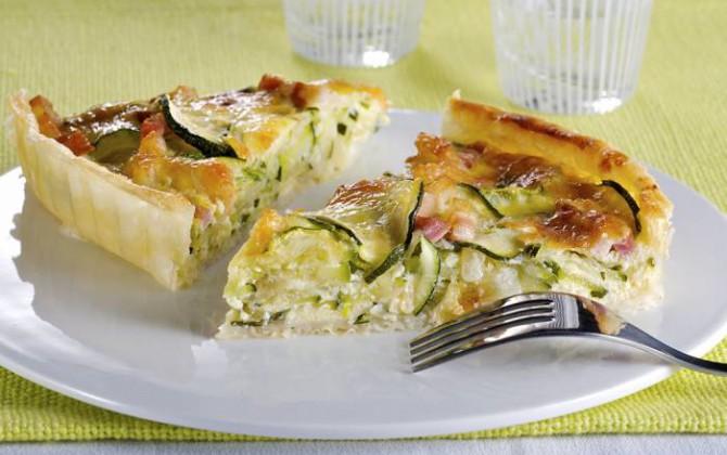 Ricetta Quiche Di Verdure.Quiche Di Zucchine Star