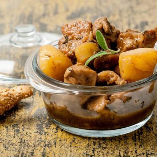 spezzatino di cinghiale con patate