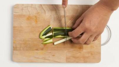 tortino di zucchine e menta