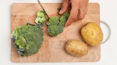 patate e broccoli al forno