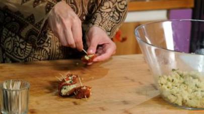 pomodori secchi ripieni